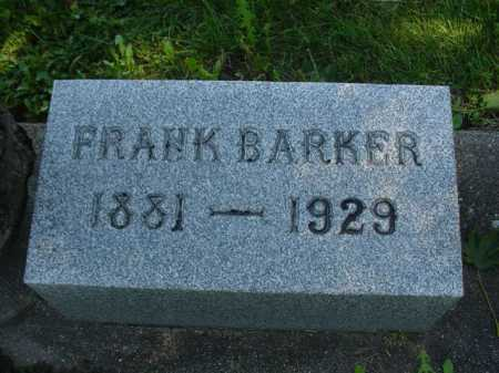 BARKER, FRANK - Ogle County, Illinois | FRANK BARKER - Illinois Gravestone Photos
