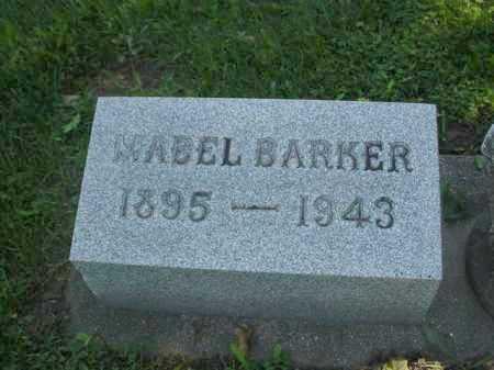 BARKER, MABEL - Ogle County, Illinois | MABEL BARKER - Illinois Gravestone Photos