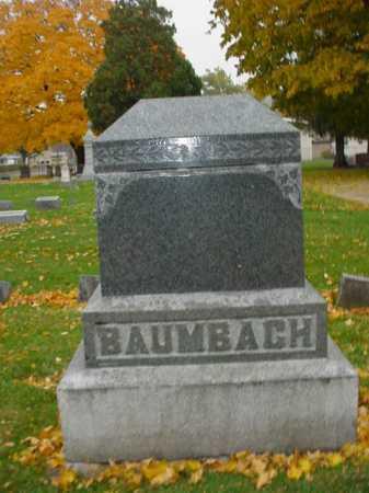 BAUMBACH, FAMILY STONE - Ogle County, Illinois   FAMILY STONE BAUMBACH - Illinois Gravestone Photos