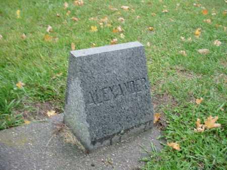 BAXTER, ALEXANDER - Ogle County, Illinois | ALEXANDER BAXTER - Illinois Gravestone Photos