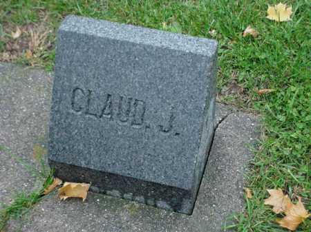 BAXTER, CLAUD J. - Ogle County, Illinois | CLAUD J. BAXTER - Illinois Gravestone Photos