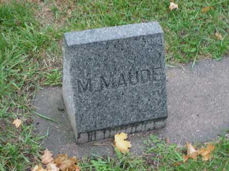 BAXTER, M. MAUDE - Ogle County, Illinois   M. MAUDE BAXTER - Illinois Gravestone Photos