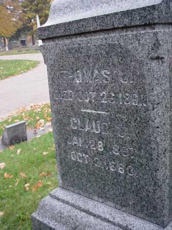 BAXTER, THOMAS J. - Ogle County, Illinois   THOMAS J. BAXTER - Illinois Gravestone Photos