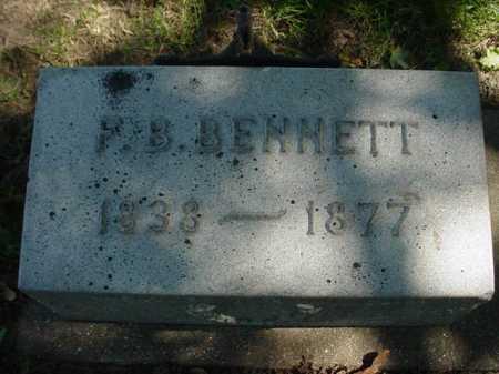 BENNETT, F. B. - Ogle County, Illinois | F. B. BENNETT - Illinois Gravestone Photos
