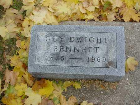 BENNETT, GUY DWIGHT - Ogle County, Illinois   GUY DWIGHT BENNETT - Illinois Gravestone Photos