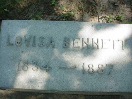 BENNETT, LOVISA - Ogle County, Illinois | LOVISA BENNETT - Illinois Gravestone Photos