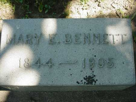 BENNETT, MARY E. - Ogle County, Illinois | MARY E. BENNETT - Illinois Gravestone Photos