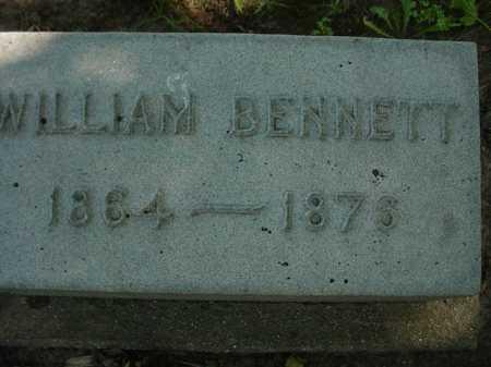 BENNETT, WILLIAM - Ogle County, Illinois | WILLIAM BENNETT - Illinois Gravestone Photos