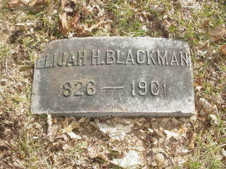 BLACKMAN, ELIJAH H. - Ogle County, Illinois | ELIJAH H. BLACKMAN - Illinois Gravestone Photos