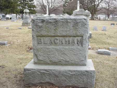 BLACKMAN, FAMILY STONE - Ogle County, Illinois | FAMILY STONE BLACKMAN - Illinois Gravestone Photos