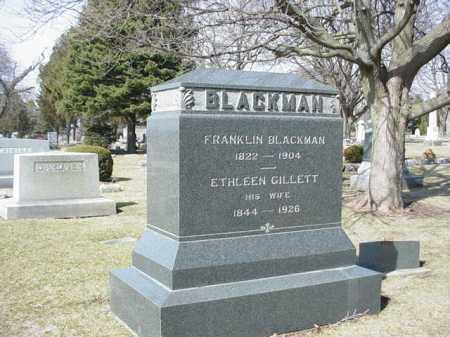 GILLETT BLACKMAN, ETHLEEN - Ogle County, Illinois | ETHLEEN GILLETT BLACKMAN - Illinois Gravestone Photos