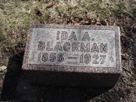 KING BLACKMAN, IDA A. - Ogle County, Illinois | IDA A. KING BLACKMAN - Illinois Gravestone Photos
