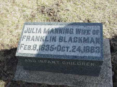 BLACKMAN, JULIA - Ogle County, Illinois | JULIA BLACKMAN - Illinois Gravestone Photos