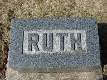 BLACKMAN, RUTH - Ogle County, Illinois | RUTH BLACKMAN - Illinois Gravestone Photos