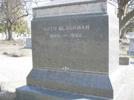 BLACKMAN, RUTH - Ogle County, Illinois | RUTH BLACKMAN - Illinois Gravestone Photos