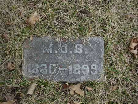 BLY, M. D. - Ogle County, Illinois | M. D. BLY - Illinois Gravestone Photos