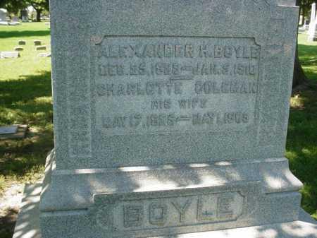BOYLE, CHARLOTTE - Ogle County, Illinois | CHARLOTTE BOYLE - Illinois Gravestone Photos