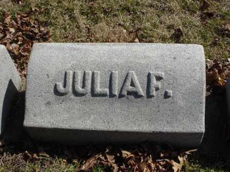 BRAIDEN, JULIA - Ogle County, Illinois | JULIA BRAIDEN - Illinois Gravestone Photos