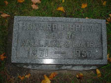 BROWN, HOWARD D. - Ogle County, Illinois | HOWARD D. BROWN - Illinois Gravestone Photos