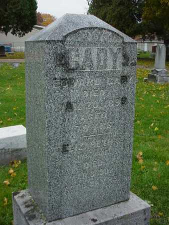 CADY, EDWARD - Ogle County, Illinois | EDWARD CADY - Illinois Gravestone Photos