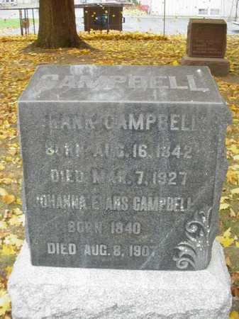 CAMPBELL, FRANK - Ogle County, Illinois | FRANK CAMPBELL - Illinois Gravestone Photos