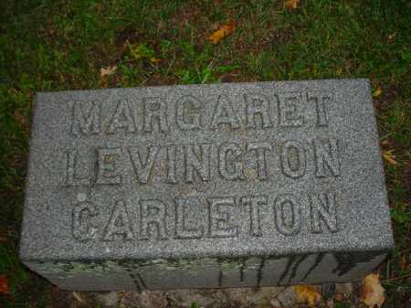 LEVINGTON CARLETON, MARGARET - Ogle County, Illinois   MARGARET LEVINGTON CARLETON - Illinois Gravestone Photos