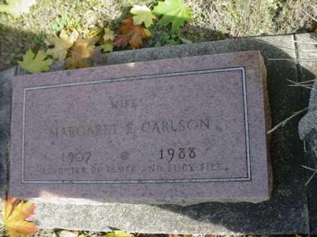 FILL CARLSON, MARGARET - Ogle County, Illinois | MARGARET FILL CARLSON - Illinois Gravestone Photos