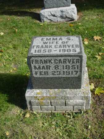 CARVER, EMMA - Ogle County, Illinois | EMMA CARVER - Illinois Gravestone Photos