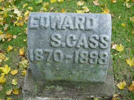CASS, EDWARD - Ogle County, Illinois | EDWARD CASS - Illinois Gravestone Photos