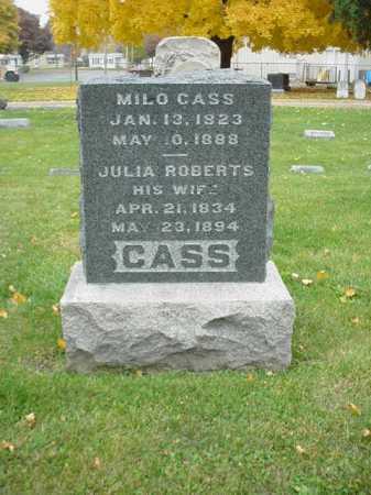 ROBERTS CASS, JULIA - Ogle County, Illinois | JULIA ROBERTS CASS - Illinois Gravestone Photos
