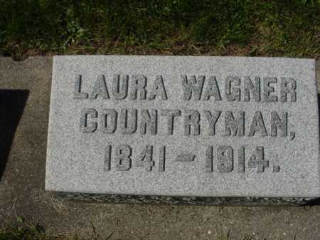 COUNTRYMAN, LAURA - Ogle County, Illinois | LAURA COUNTRYMAN - Illinois Gravestone Photos