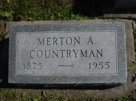 COUNTRYMAN, MERTON - Ogle County, Illinois   MERTON COUNTRYMAN - Illinois Gravestone Photos