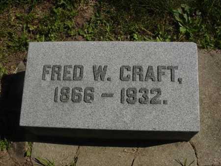 CRAFT, FRED - Ogle County, Illinois   FRED CRAFT - Illinois Gravestone Photos