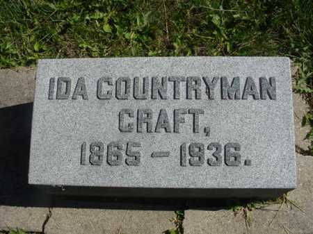 COUNTYRMAN CRAFT, IDA - Ogle County, Illinois | IDA COUNTYRMAN CRAFT - Illinois Gravestone Photos