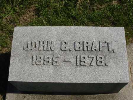 CRAFT, JOHN - Ogle County, Illinois | JOHN CRAFT - Illinois Gravestone Photos