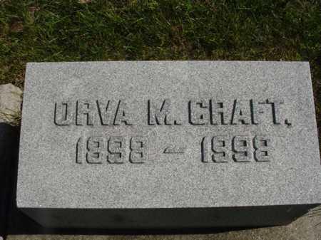 CRAFT, ORVA - Ogle County, Illinois | ORVA CRAFT - Illinois Gravestone Photos