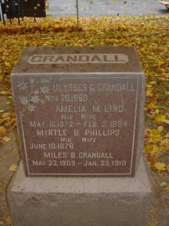 CRANDALL, AMELIA - Ogle County, Illinois | AMELIA CRANDALL - Illinois Gravestone Photos