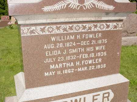 FOWLER, MARTHA H. - Ogle County, Illinois   MARTHA H. FOWLER - Illinois Gravestone Photos