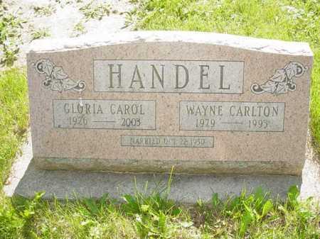 HANDEL, GLORIA CAROL - Ogle County, Illinois | GLORIA CAROL HANDEL - Illinois Gravestone Photos