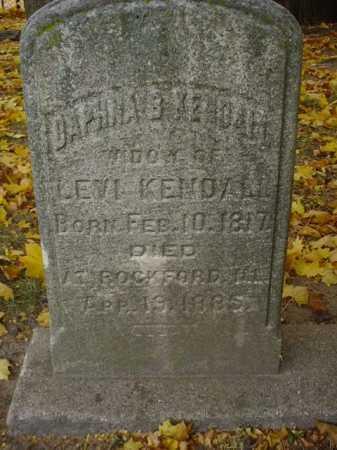KENDALL, DAPHNE - Ogle County, Illinois | DAPHNE KENDALL - Illinois Gravestone Photos