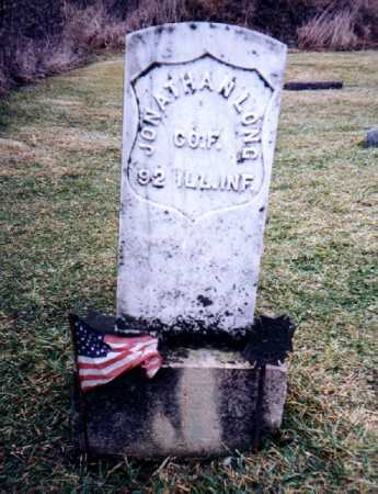LONG, JONATHAN - Ogle County, Illinois | JONATHAN LONG - Illinois Gravestone Photos