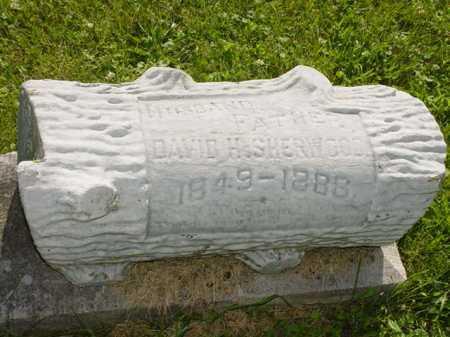 SHERWOOD, DAVID H. - Ogle County, Illinois | DAVID H. SHERWOOD - Illinois Gravestone Photos