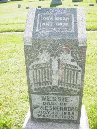SHERWOOD, WESSIE - Ogle County, Illinois   WESSIE SHERWOOD - Illinois Gravestone Photos