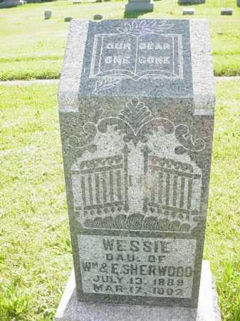 SHERWOOD, WESSIE - Ogle County, Illinois | WESSIE SHERWOOD - Illinois Gravestone Photos