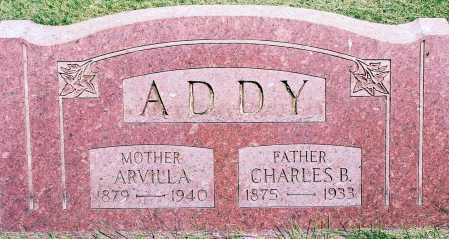 ADDY, ARVILLA - Peoria County, Illinois | ARVILLA ADDY - Illinois Gravestone Photos