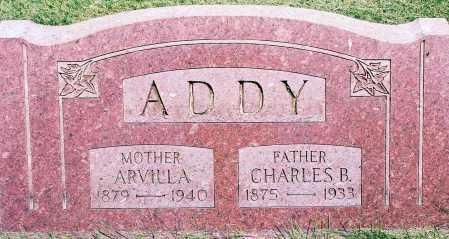 ADDY, CHARLES B. - Peoria County, Illinois | CHARLES B. ADDY - Illinois Gravestone Photos