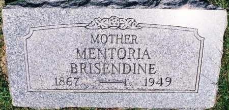BRISENDINE, MENTORIA - Peoria County, Illinois | MENTORIA BRISENDINE - Illinois Gravestone Photos
