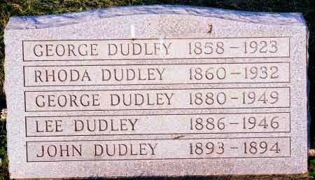 DUDLEY, GEORGE - Peoria County, Illinois | GEORGE DUDLEY - Illinois Gravestone Photos