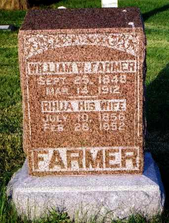 FARMER, RUHAMA - Peoria County, Illinois | RUHAMA FARMER - Illinois Gravestone Photos