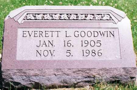 GOODWIN, EVERETT LEANDER - Peoria County, Illinois | EVERETT LEANDER GOODWIN - Illinois Gravestone Photos